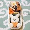 お弁当作りの記録(3日分)~うさぎ弁当、恐竜弁当、お花弁当/My Homemade Boxed Lunch/ข้าวกล่องเบนโตะที่ทำเอง