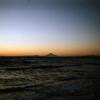 写ルンですで内房の夕陽を撮ったんです