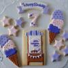 アイスクリーム屋さんを夢見る女の子へ贈るクッキーGift♡