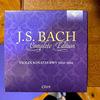 謹賀新年7連発 4/7 バッハ全集 全部聞いたらバッハ通 CD19 BWV. 1014-1016 バイオリンとチェンバロのためのソナタ