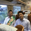 電車内で小泉進次郎氏がらくさぶろうを一喝!豪雨の中で伝えた小泉氏のアドバイスとは?【全文】