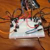 Arduinoでコンデンサーマイクからの入力を2chにすると値がうまく取れない。