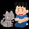 猫アレルギーと寝相が悪い猫の話