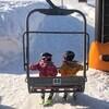6歳未就学児の子供だけでリフトデビュー!スキーで中級コースも挑戦!成長が目覚ましくて嬉しい!