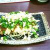 花山椒で夕飯を食べてきた