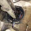 T250 マフラー清掃