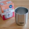 コーヒー用にサーモスの真空断熱カップ(280ml)を買ってみたけど性能はニトリのタンブラーとあまり変わらない?