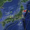 【地震】2010年の3個の台風は翌年の東日本大震災の前震・本震・余震の震源を「迂回」して進んだ?