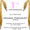 祝!イムカティムカ パリ ブティック オープン一周年