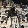 LEGO75105「スター・ウォーズ ミレニアムファルコン」作ってみたレビュー!予想以上の完成度!