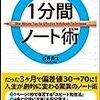 速読実践11☆読みやすいビジネス本を速読するとどうなるか?【1分間ノート術】