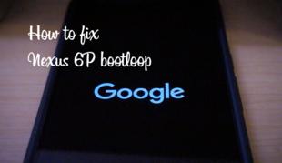 Nexus 6Pのブートループを直してみる