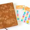 【手帳】月間インデックスシールでなぞり猫手帳をさらに使いやすくカスタマイズ