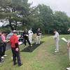 今日は雨の中、ダメダメなゴルフでした・・・・・・。
