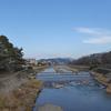 高野川、初春風景。