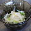 肴の冬料理 『蕪の浅漬け』