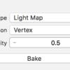 iOS で SceneKit を試す(Swift 3) その63 - Scene Editor で Light Map のテクスチャを作成する