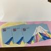 東京個別指導学院の株主優待、図書カードをもらいました