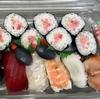 職場のお昼ご飯に、寿司が出た〜〜!
