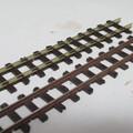 鉄道模型のレール塗装をハンブロールでやってみた ~エアブラシと筆塗りの手順と比較