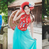 ベトナム女性にコスプレさせる日本人
