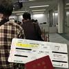 エバー航空(EVA)で小松空港(KMQ)から台湾桃園国際空港(TPE)へ