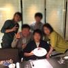 弟の壮行会を京王プラザホテルにて行いました