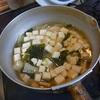 幸運な病のレシピ( 447 )朝 :タケノコ入りカツ卵とじ、ニシンみりん干し、父との朝食