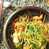 豆苗を美味しく!鶏むね肉と豆苗の味噌炒めのレシピ