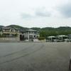 京都市バス終点の風景「桂坂中央」
