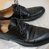 ダイソーの靴磨きでGUの革靴を鍛える
