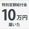 【申請から届くまで】国から10万円の給付金が届いた話