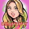 iPadで描いたゆきぽよさんの似顔絵。と動画。