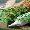 【潜入レポ】大麻合法の国、オランダのアムステルダムにあるマリファナカフェに行ってきた!(場所、料金、遊び方)