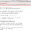 CentOS7のアップデート