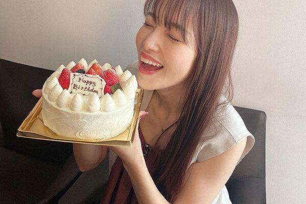 鷲見玲奈「恩返しの1年にしたい」31歳の誕生日をファンに報告!