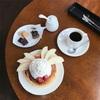 ホイップクリームたっぷり!「喫茶黒うさぎさん」厚焼きホットケーキとの出会い。