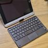 iPadmini5用おすすめキーボード。「7-8インチ Bluetooth キーボード 超薄型 タッチパッド式 Bluetooth3.0 ワイヤレスキーボード USB充電式 マウス一体型 無線 ミニ 軽量 iOS/Android/Mac/iPad mini/iPad proタブレットに対応 (ブラック)」Bluetoothキーボード詳細をメモ