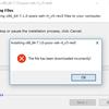 64bit Windows10にfortranコンパイラを導入
