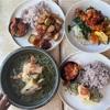 ダウンタウンにあるオーキムズ🌺O'KIMSは韓国料理とハワイ料理、日本料理が絶妙にコラボした美味しいお店。