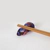 紫陽花色のガラス箸置き【カラバリのご紹介】
