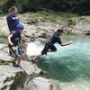 3連休初日!(雨っぽいけど)川へGO!! スイカ割りもやっちゃうぞ