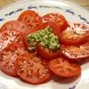 トマトサラダ きゅうりと粒マスタードの簡単ドレッシング