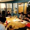 レッスンレポート)11/17本川町教室 ショール編みと靴下編みが人気です