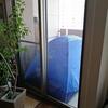 暇なので家のベランダにテントを張ってみた #ベランピング