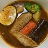 モランボンの「ゴロゴロ野菜で作るスープカレー」が美味しい!小麦粉不使用なので、小麦粉アレルギーの方にもおススメです。