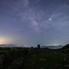 【天体撮影記 第105夜】 長崎県 平戸島の川内(かわち)峠の草原に浮かぶ天の川