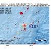 2016年11月17日 12時00分 奄美大島近海でM4.0の地震
