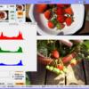 選択画像のヒストグラムを表示できるようにしたPixtack紫陽花1.3.5.70