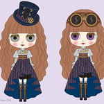 10月っ子は「シェリー・ヴィクトリアン」スチームパンクファッションが似合うハスブロ限定です